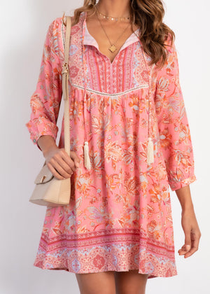 New Direction Dress - Candy Paisley