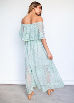 Good Graces Maxi Dress - Sage