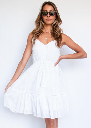 Weekend Dress - White