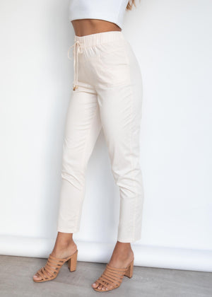 Yarra Pants - Cream