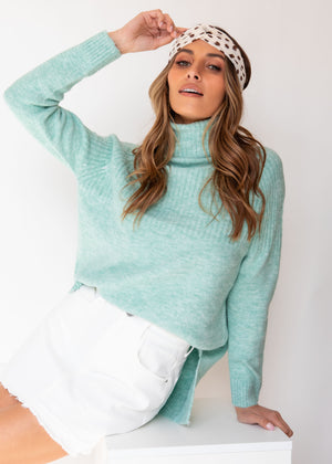 All Loved Up Sweater - Mint