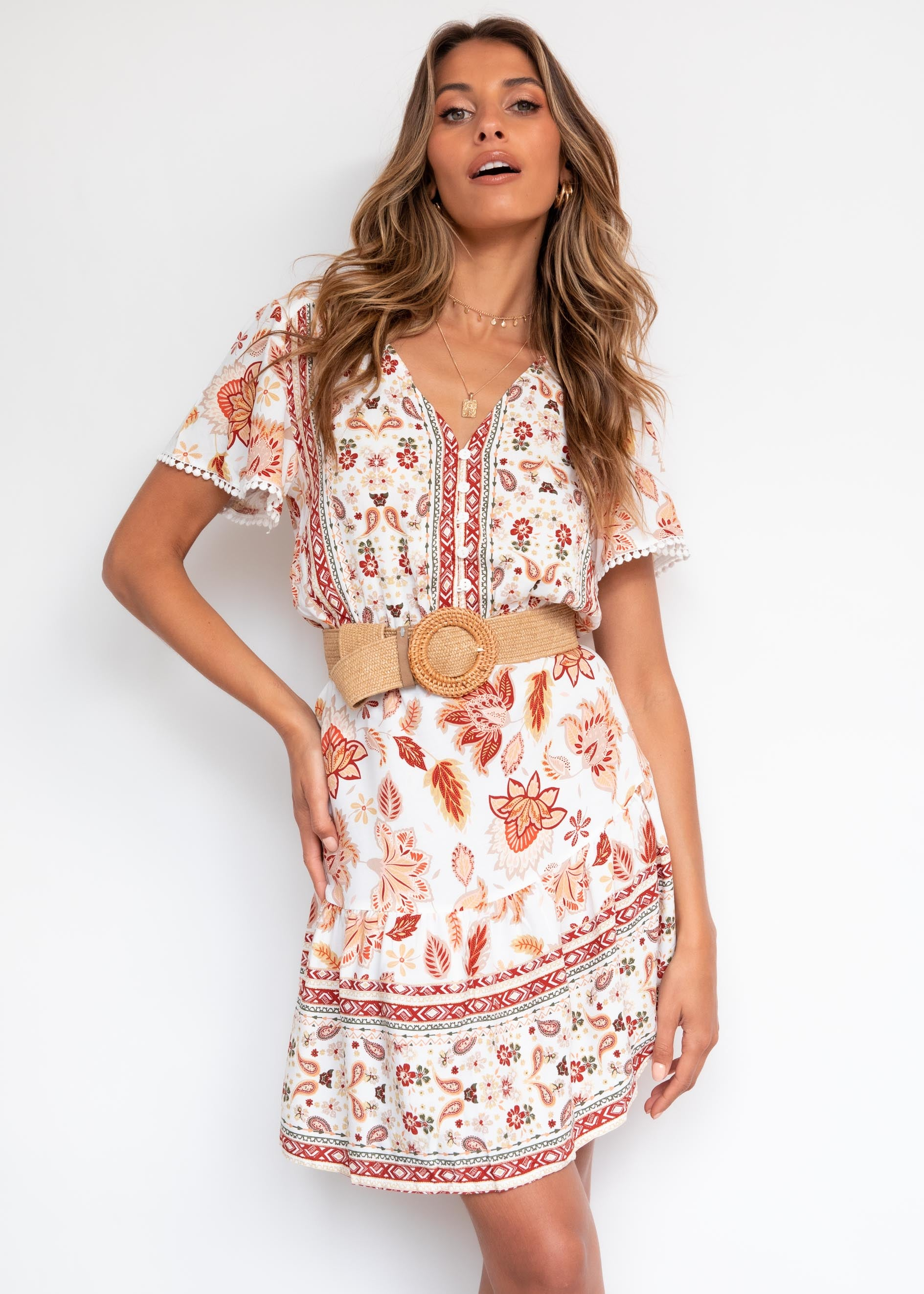 In My Eyes Dress - Autumn Floral