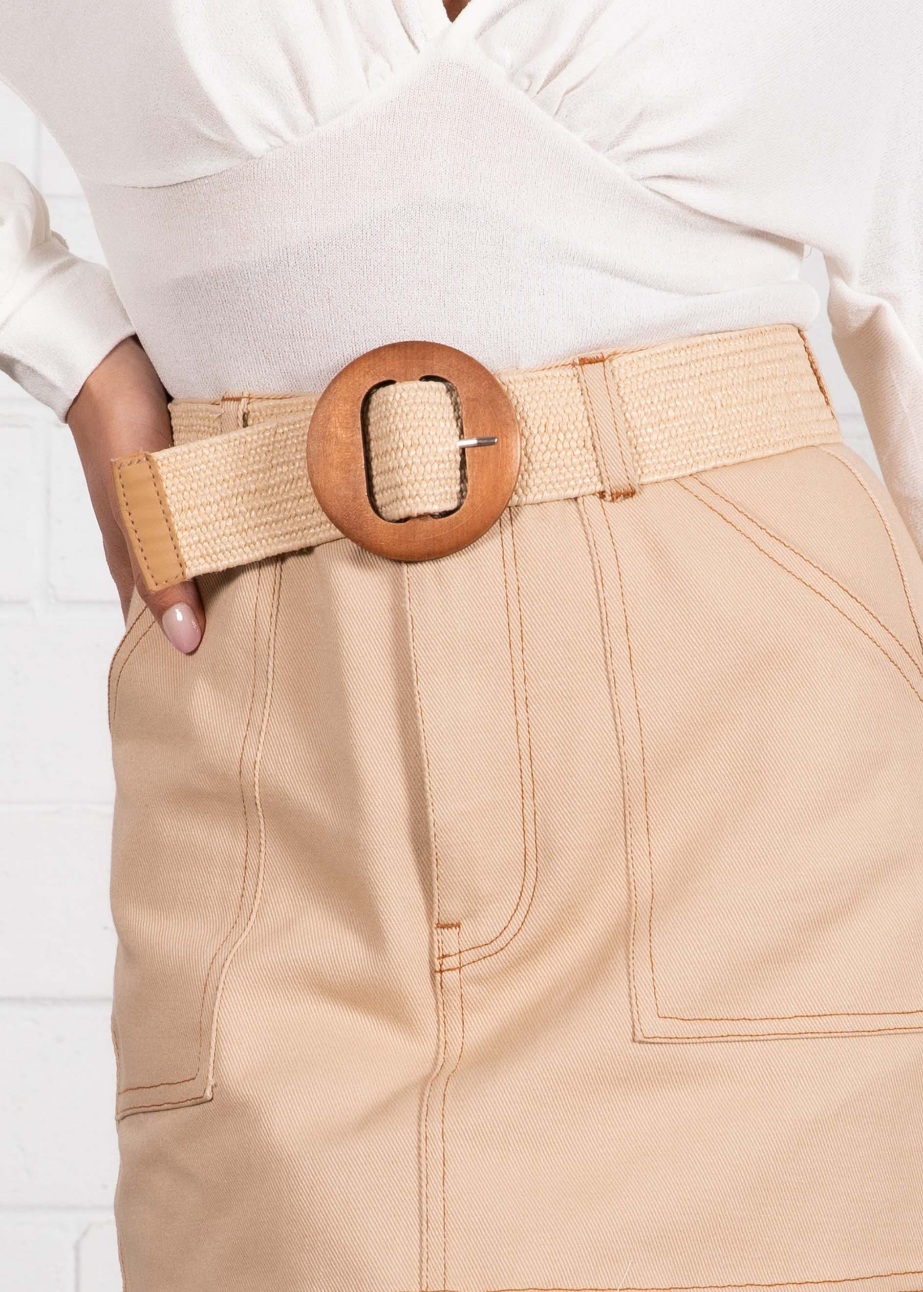 Lolea Belt - Cream