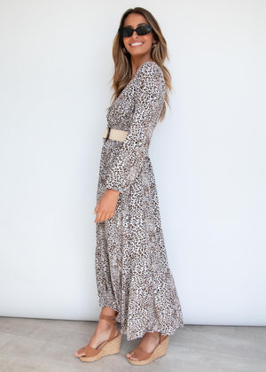 Naeve Maxi Dress - Leopard