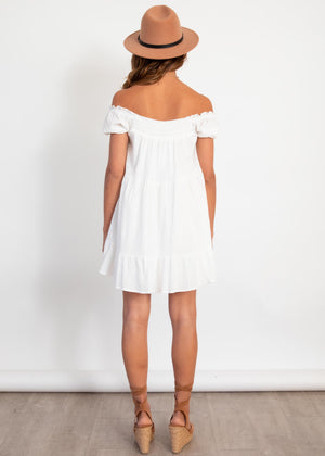 At A Glance Dress - Off White