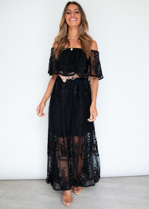 Good Graces Maxi Dress - Black
