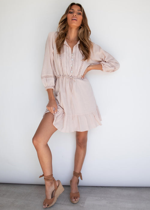 Cambria Dress - Blush