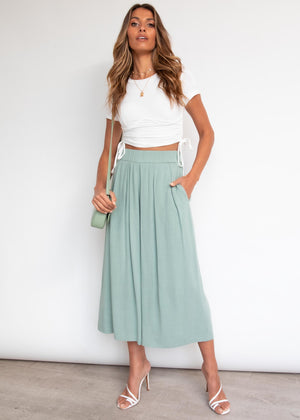 Gonna Groove Culottes - Sage