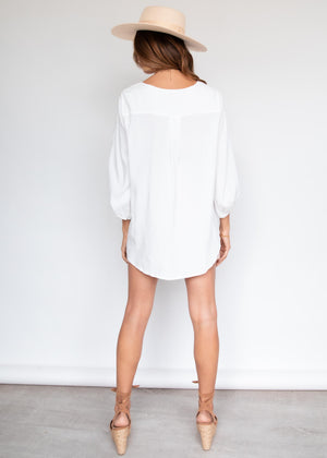Macey Blouse - White