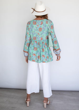 Ardell Blouse - Spearmint