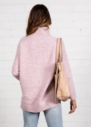All Loved Up Sweater - Lilac