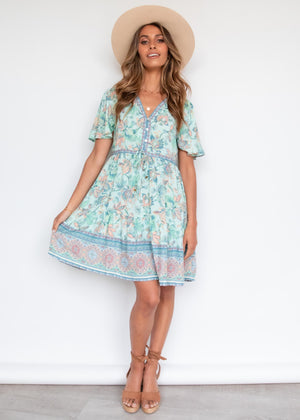 Timeless Dress - Pastel Mint