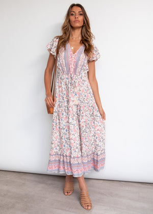 Love Affair Maxi Dress - Blush Dream