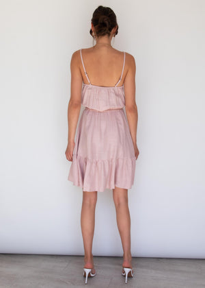 Ziah Mini Dress - Blush
