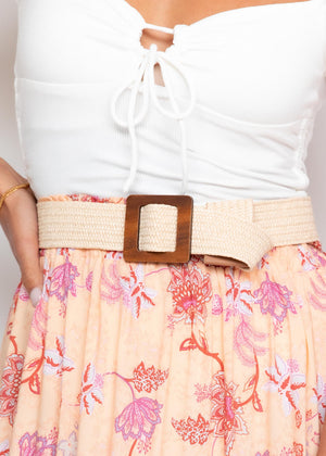 Doja Belt - Cream