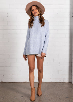 All Loved Up Sweater - Blue