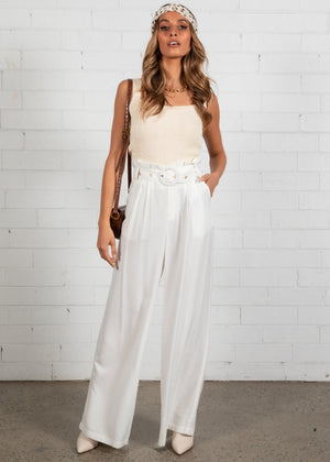 Dominica Pants - Off White