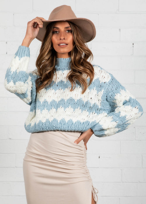 Carmabola Sweater - Blue