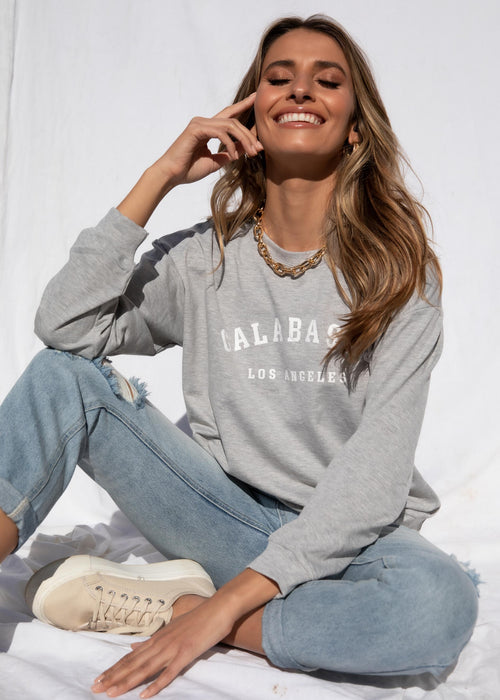 Calabasas Sweater - Grey