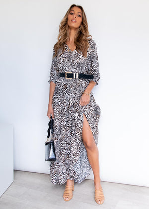 Charley Maxi Dress - Safari
