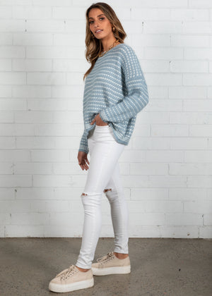 All Nighter Sweater - Blue