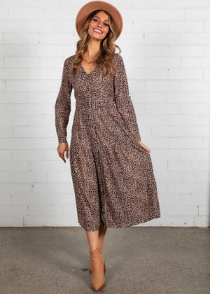 My Delirium Maxi Dress - Leopard