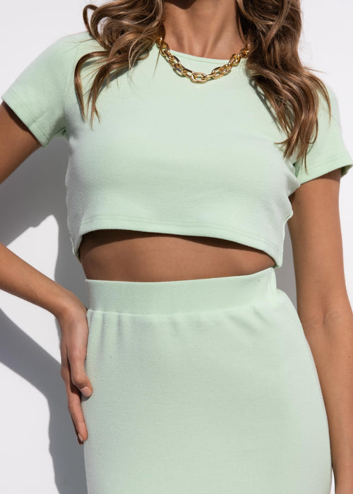 Lana Knit Set - Mint