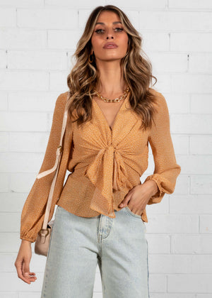 Sunflower Fields Blouse - Honey Spot