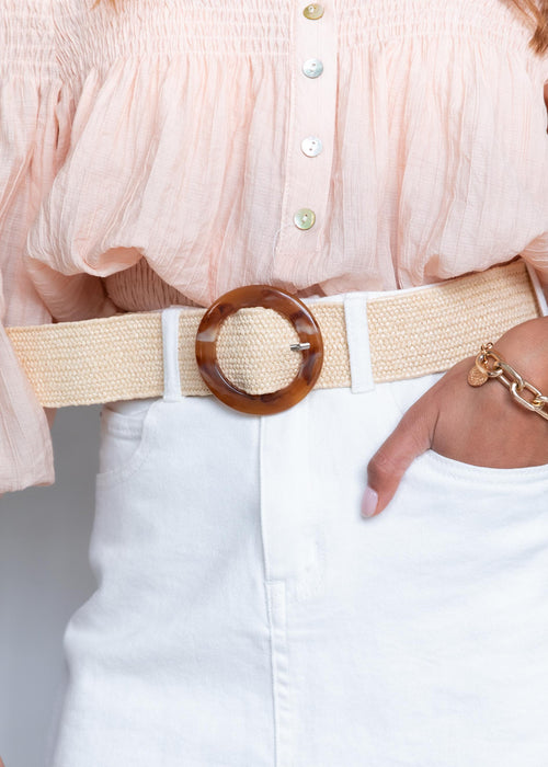 Revolution Belt - Cream