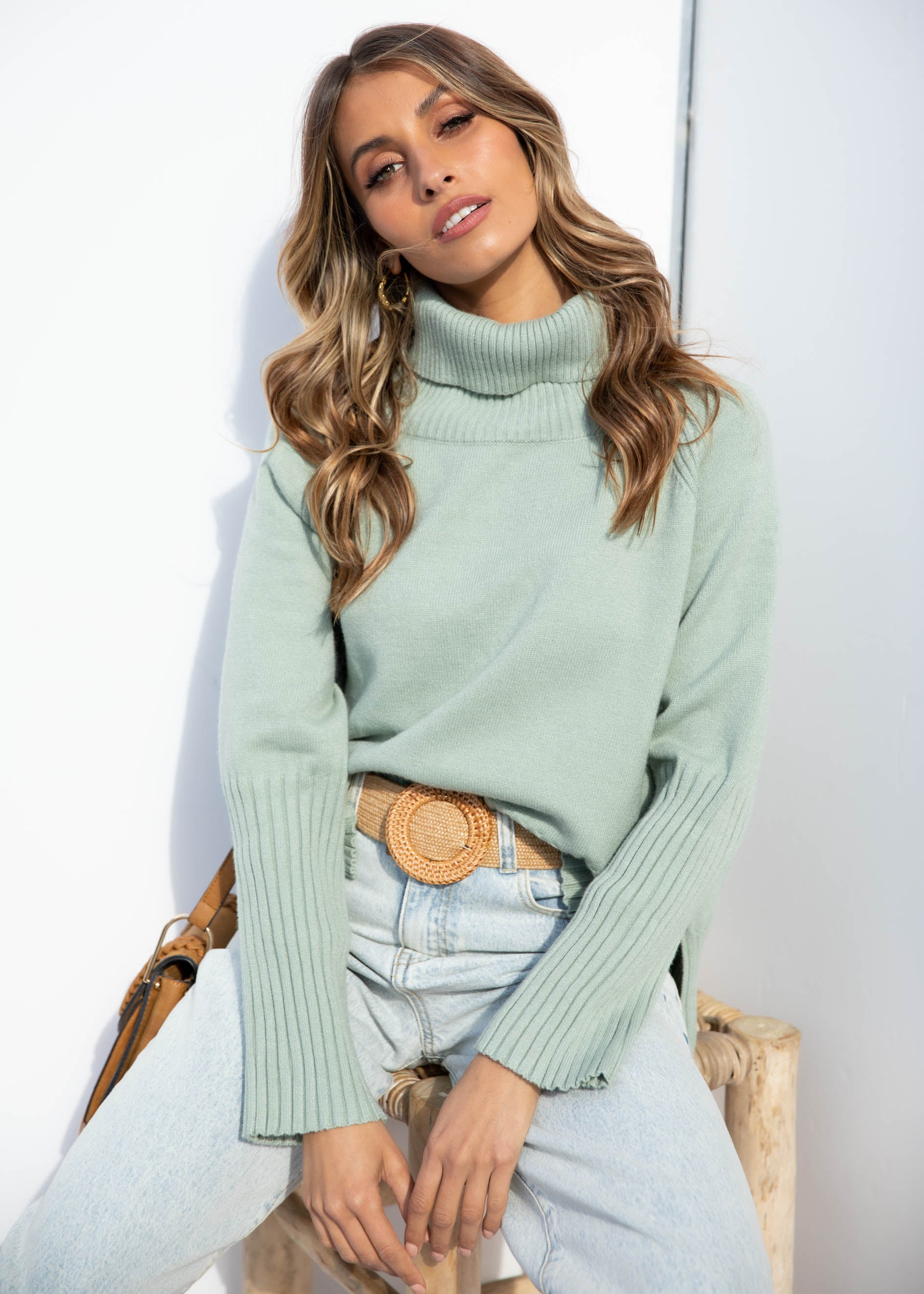 Next Lifetime Sweater - Mint