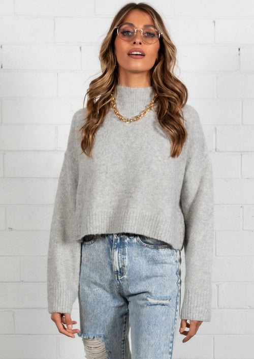 Cool Spirit Sweater - Grey
