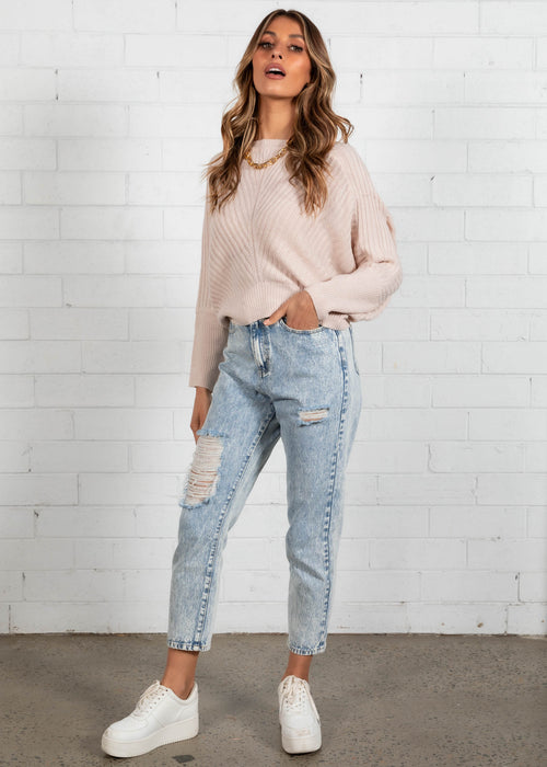 Wilabelle Sweater - Blush