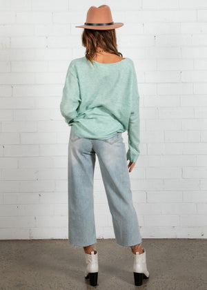 Moda Lightweight Sweater - Mint
