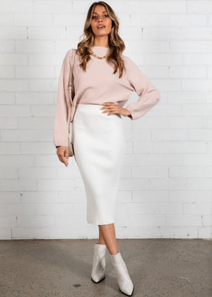 Riha Sweater - Blush