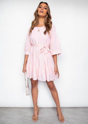 Until Morning Dress - Pink