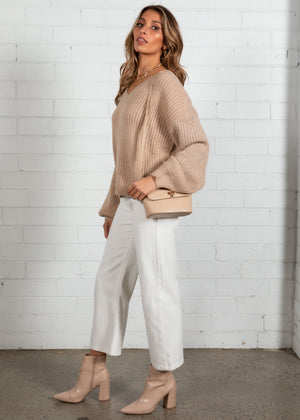 Lola Sweater - Camel