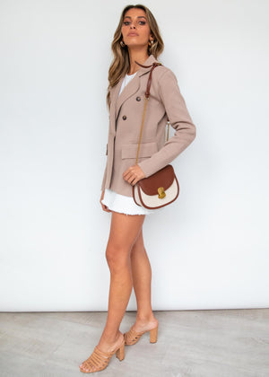 Phillipa Knit Jacket - Beige