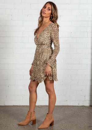 Only Tonight Dress - Leopard