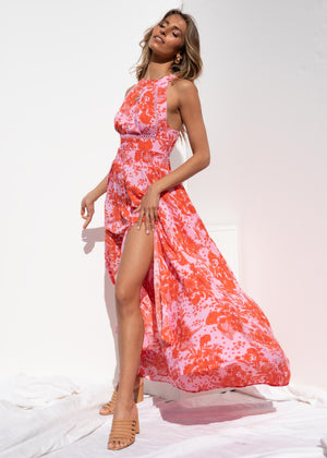 Lush Life Maxi Dress - Candy Floral