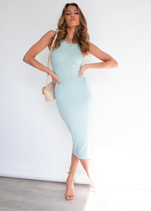 Gracelynn Midi Dress - Sage
