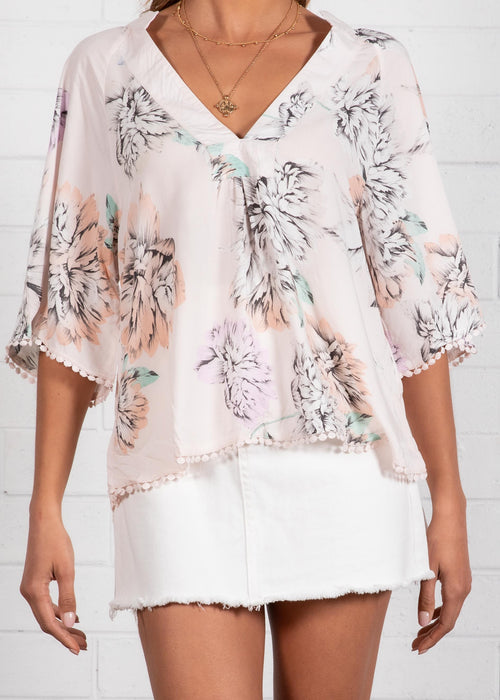 Gabriella Blouse - Blooming Bouquet