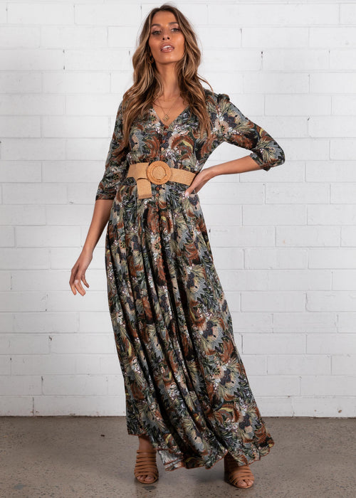 New Romantics Maxi Dress - Valencia
