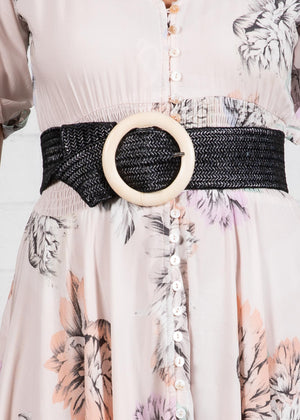 Know My Way Belt - Black