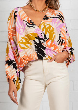 Ellis Blouse - Palm Springs