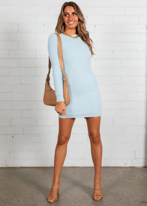 Snow Bunny Dress - Blue