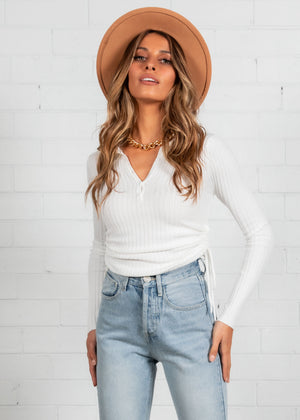 What You Think Knit Top - Off White