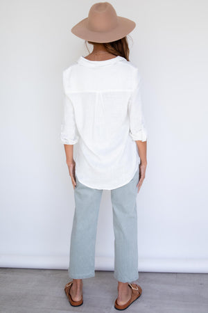 Emmalyn Shirt - White