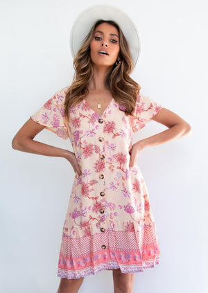Ellerie Tunic Dress - Desert