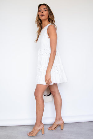 Agni Dress - White