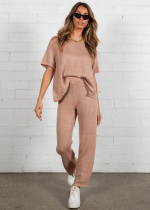 Alexiah Knit Set - Beige
